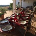 4 Front Porch set table